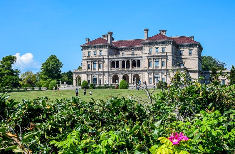 The Breakers is among the most magnificent mansions in Newport, Rhode Island.