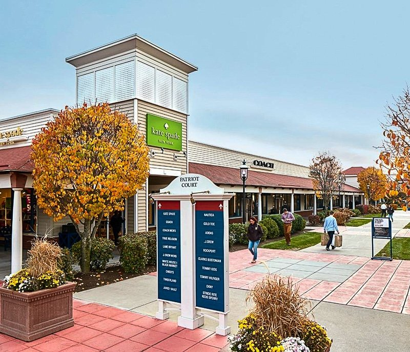 If you only have time for a short road trip from Boston, consider checking out the Wrentham Outlets.