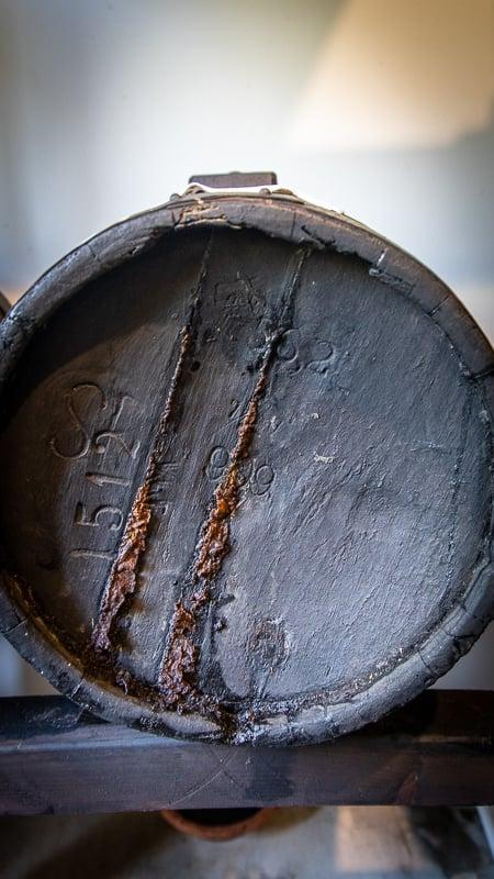 Balsamic vinegar barrel Modena Italy