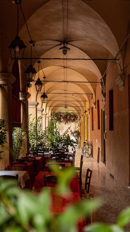 The porticoes of Bologna should be a UNESCO World Heritage Site.