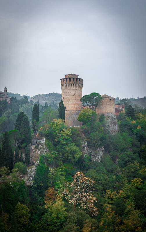 Brisighella's castle is among the most underrated places to visit in Europe.