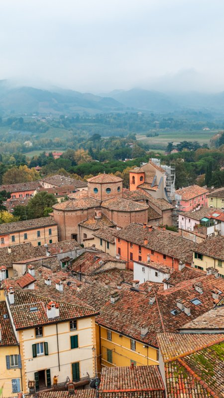 Brisighella is one of the best day trips from Bologna, Italy.