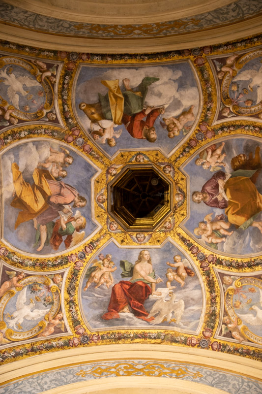 Castello Estense Fresco