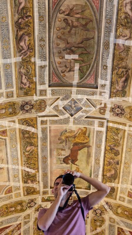 Castello Estense in Ferrara, with its countless mirrors