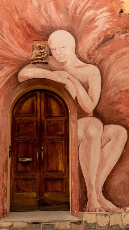 Dozza street paintings