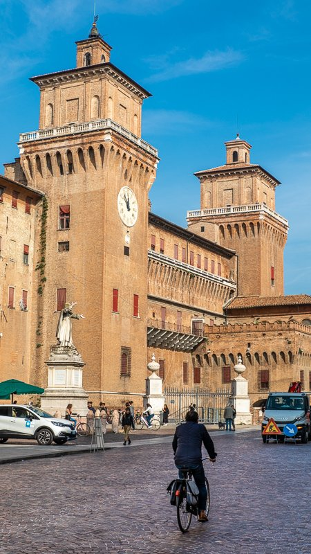Ferrara is one of the best day trips from Bologna.
