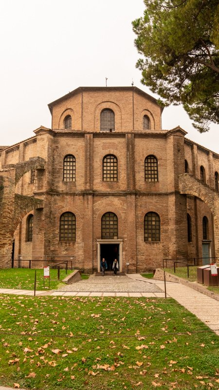Ravenna is among the best day trips from Bologna, Italy.