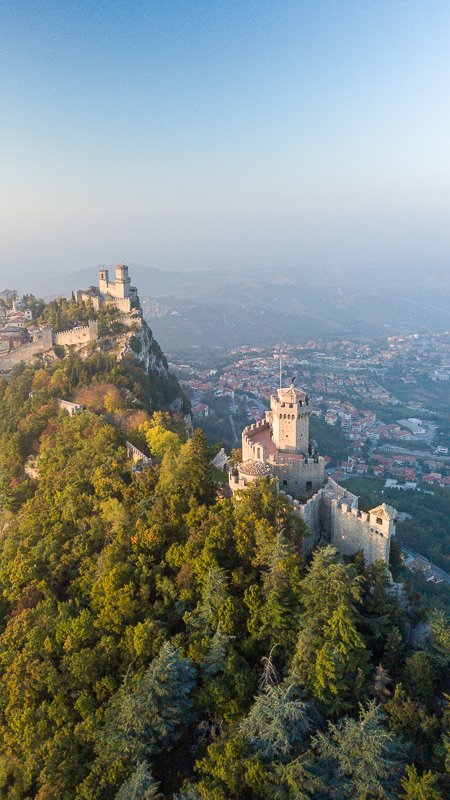 San Marino is top among the best day trips from Bologna in Emilia Romagna
