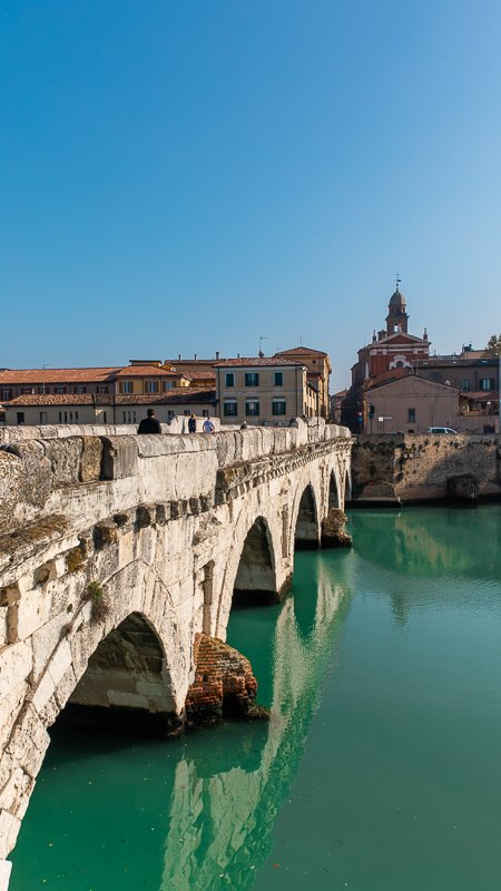 Tiberius Bridge Rimini