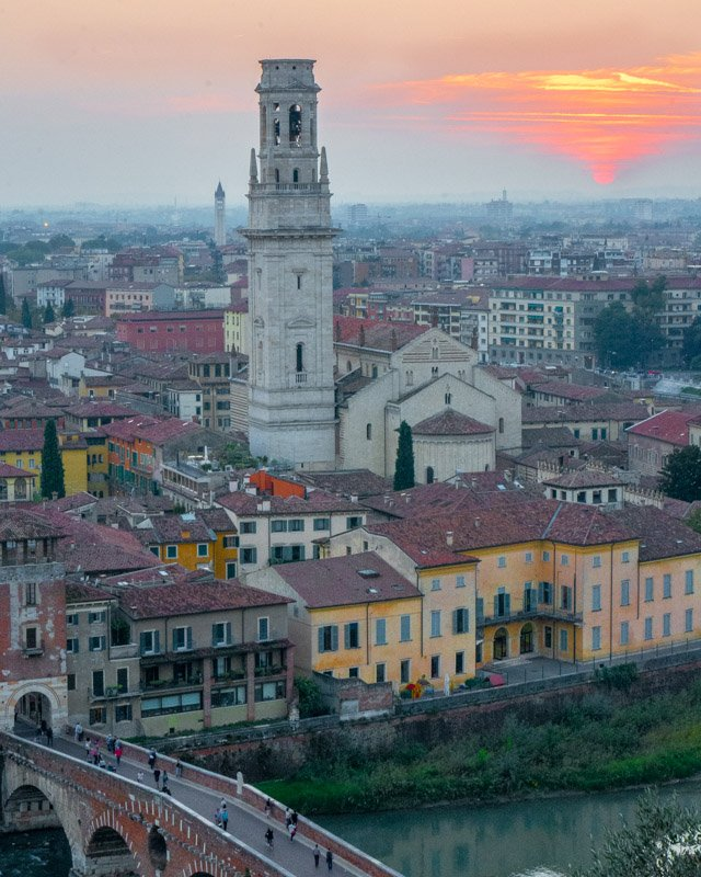 Verona is one of the best day trips from Bologna outside Emilia Romagna
