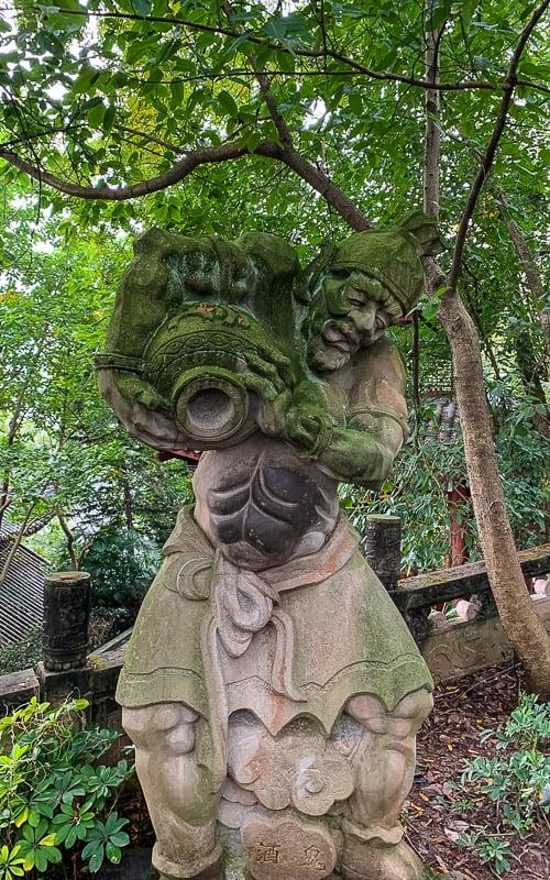 Statues in Fendgu Ghost City