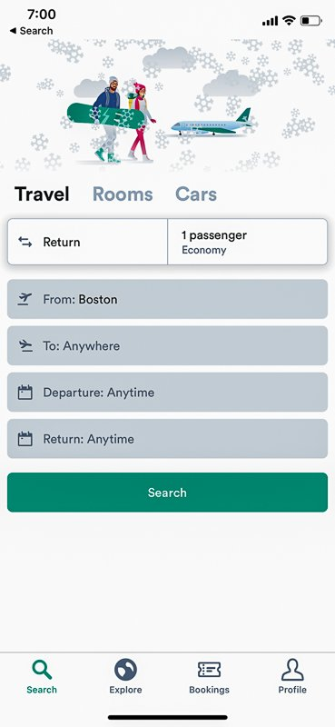 Kiwi is one of the best travel apps in 2020.