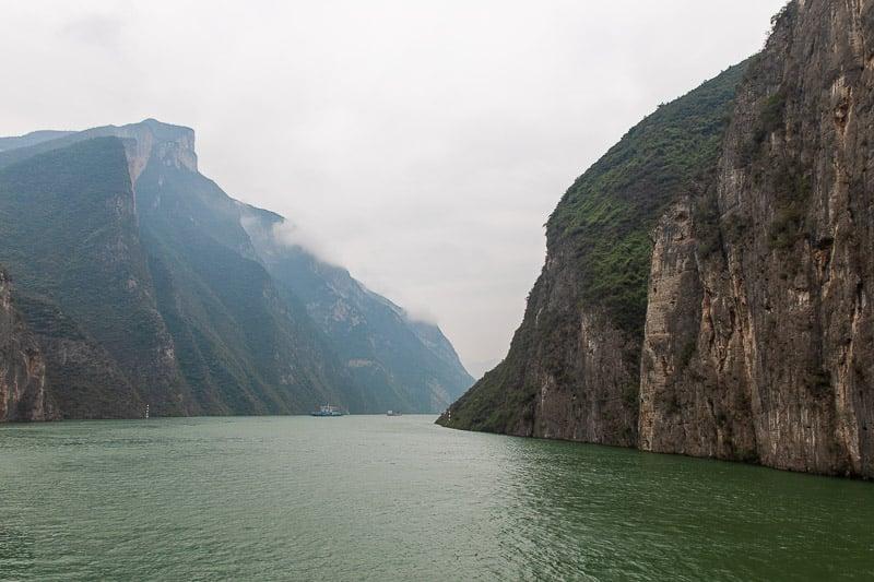 Yangtze river cruise through the Three Gorges