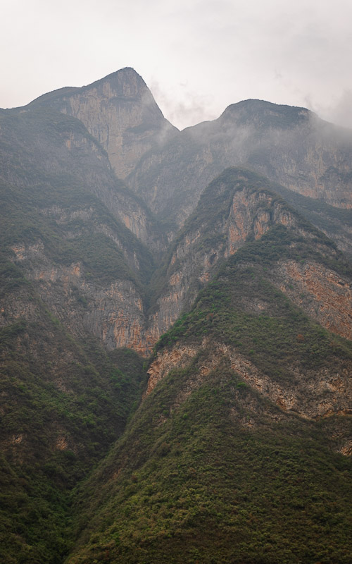 The Three Gorges are the most exciting part of any Yangtze river cruise.