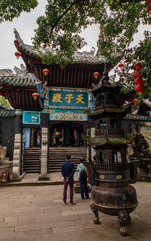 Tianzi Palace in Fengdu Ghost City