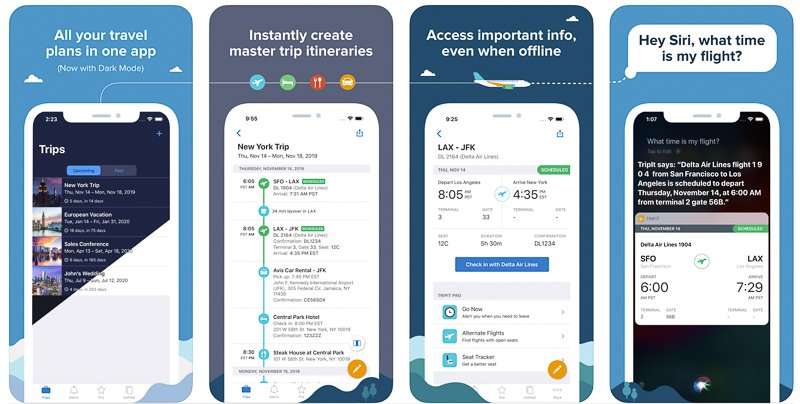 TripIt is one of the best travel apps for iPhone and Android
