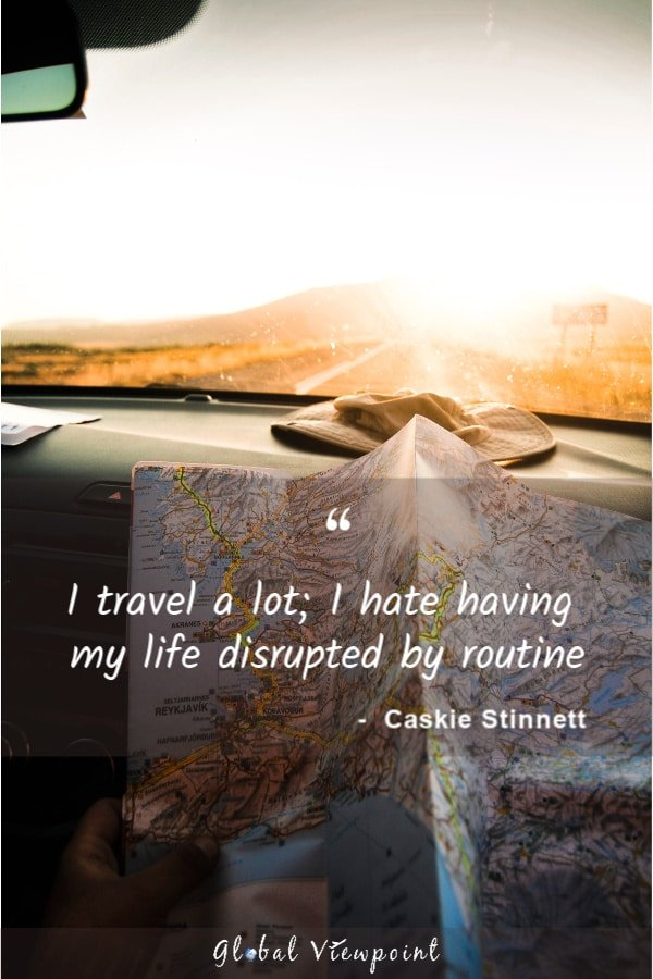 Travel is where the real growth happens.