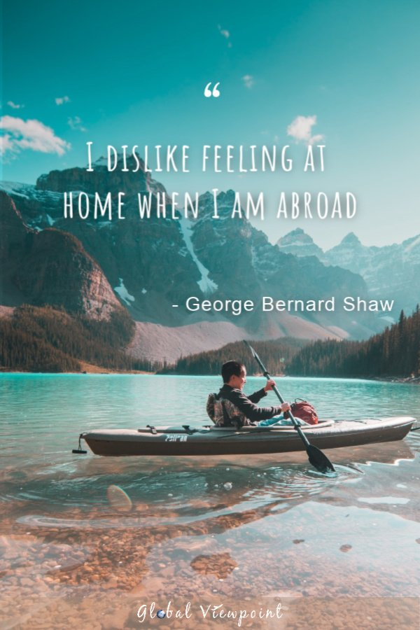 Best travel quote about embracing the unfamiliar.