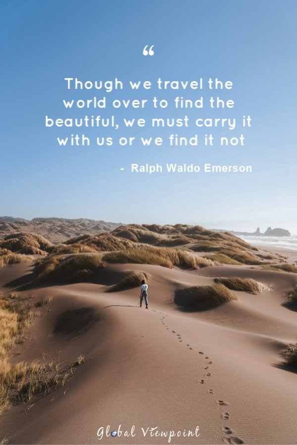 One of the best wanderlust travel quotes by far.