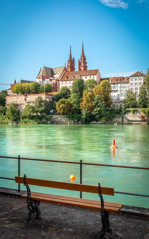 Basel is one of the most beautiful places in Switzerland.