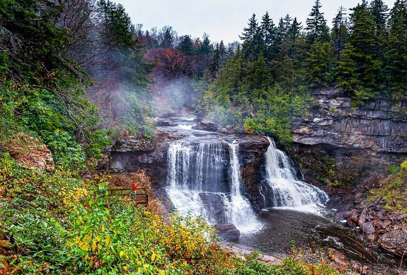 Blackwater Falls State Park is a nature-lover's dream.