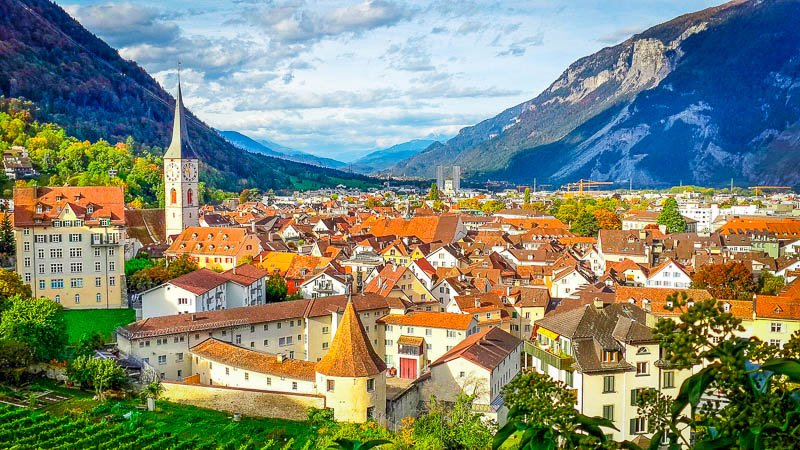 Chur is one of Switzerland's most beautiful cities.
