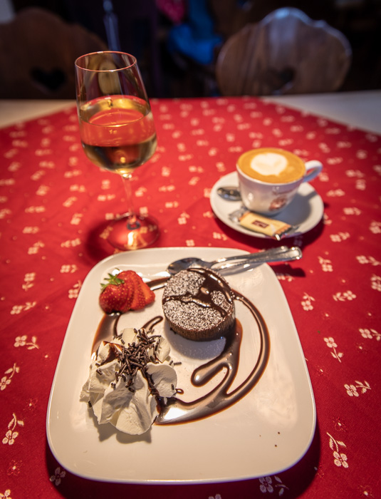 Dessert is the most important meal of the day in Rothenburg ob der Tauber, Germany.
