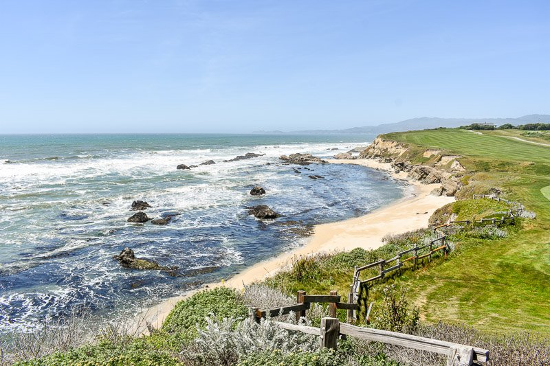 Half Moon Bay is a great vacation spot on the West Coast of the US.