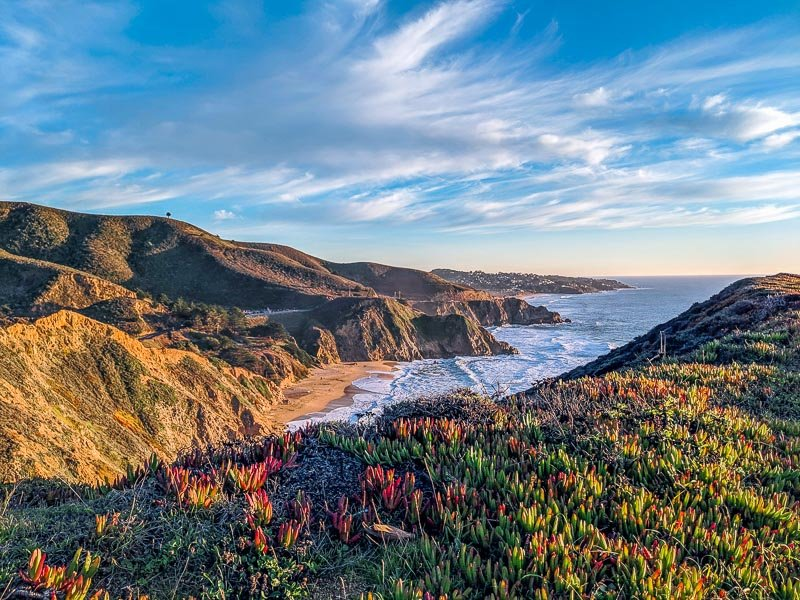 Half Moon Bay, and California's coastline in general, are among the most beautiful places in the USA.