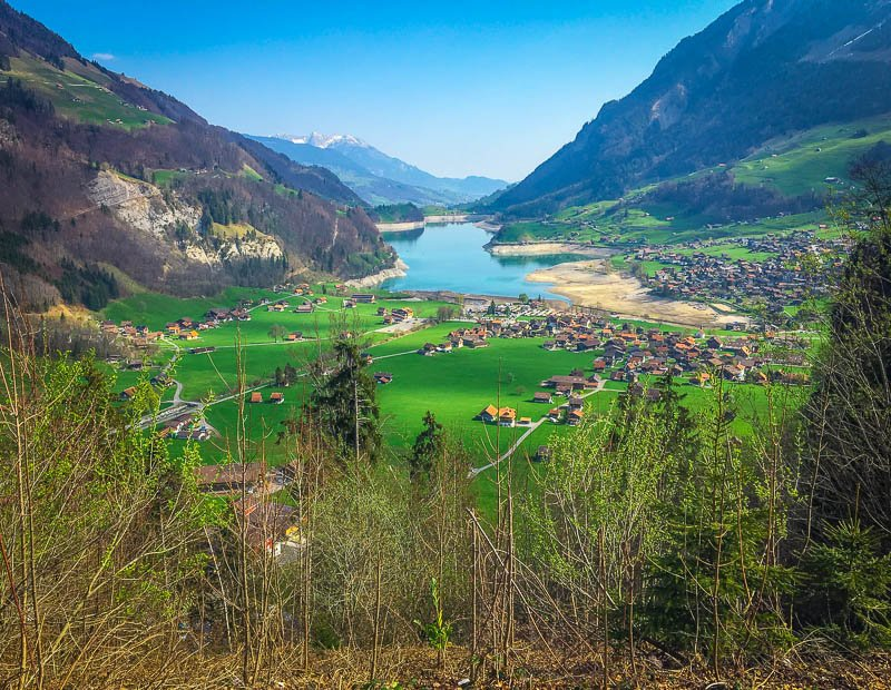 Interlaken is one of the most beautiful places in Switzerland.