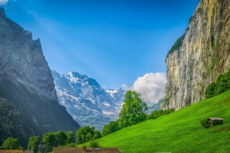 Lauterbrunnen is one of Switzerland's most beautiful valleys.