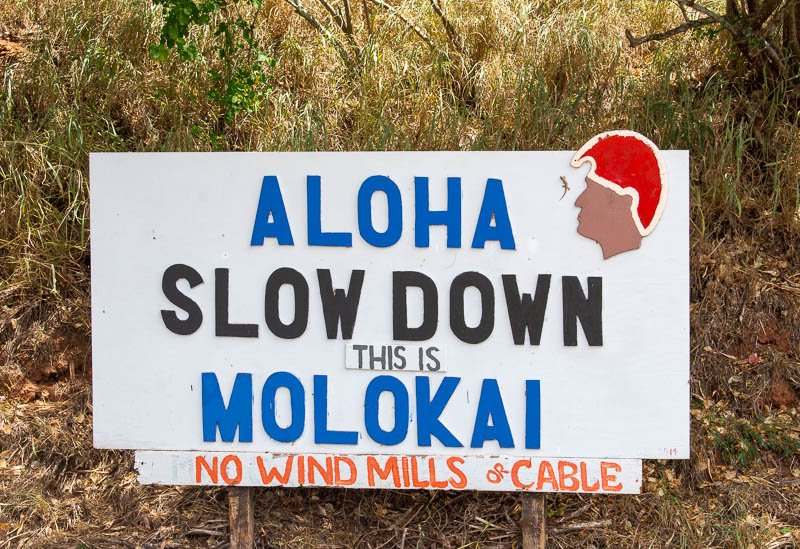 One of the best things about visiting Molokai is how unknown and secret it is, even to most Americans.