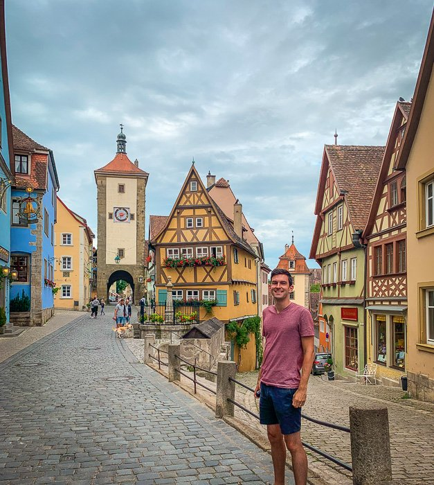 There are so many am.zing picture places in Rothenburg ob der Tauber.