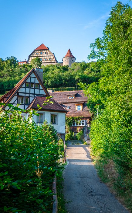 The Tauber Valley that lies beneath town adds a special flavor and ambiance to Rothenburg ob der Tauber.