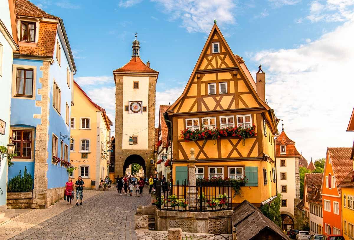 Tauber der rothenburg ob Rothenburg ob