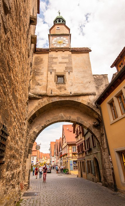 Rothenburg ob der Tauber was said to have 42 towers, which are all perfect for capturing Instagram photos.
