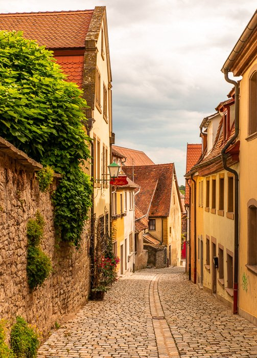 Every street in Rothenburg ob der Tauber is worthy of a postcard and Instagram photo.