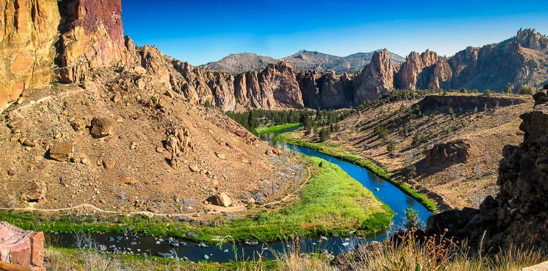 Smith Rock State Park is brimming with natural beauty and fun outdoor activities, making it one of America's best kept secrets.