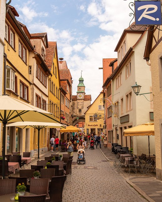 Rothenburg ob der Tauber has so many incredible picture spots and photo opportunities.