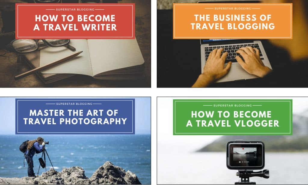 Superstar blogging nomadic matt course