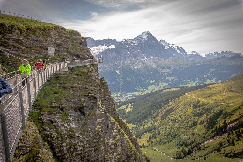 Switzerland is pricey. But it's worth every Swiss Franc. It's like going to a rooftop restaurant – you're paying for the view!