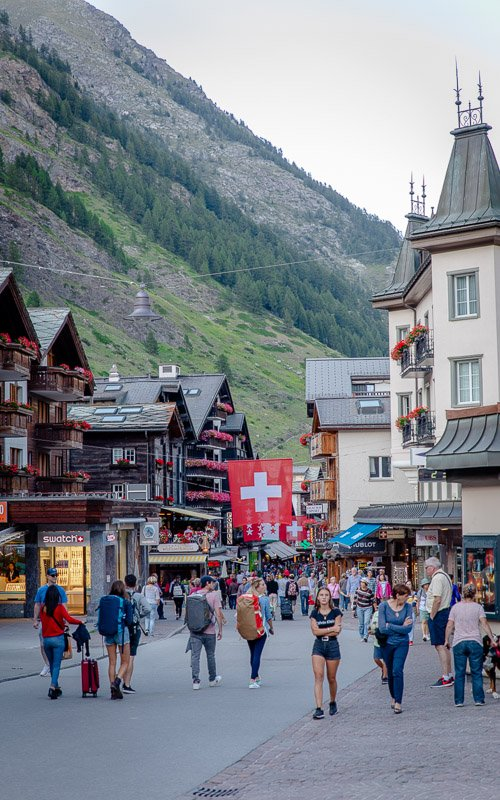Tip: Zermatt is car-free, so your best bet is to get here by train.