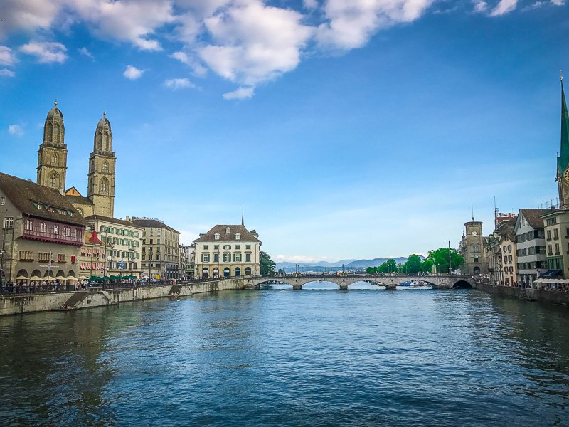 Zürich is one of the most beautiful and livable places in Switzerland.