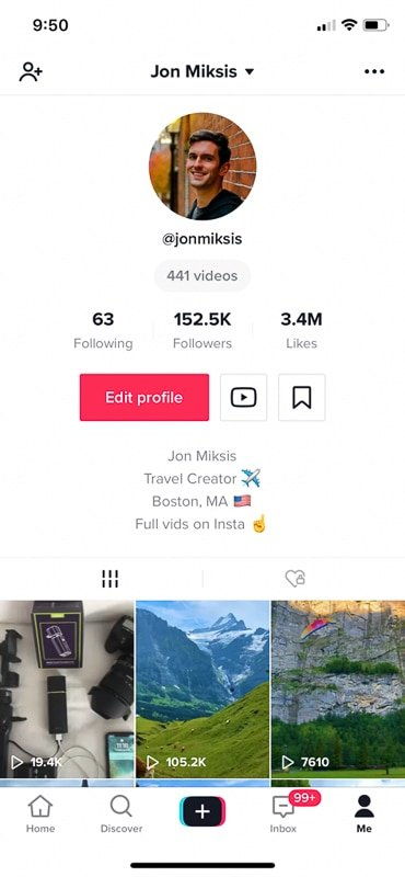 Being on TikTok is very important for how to start a travel blog and become a travel blogger.