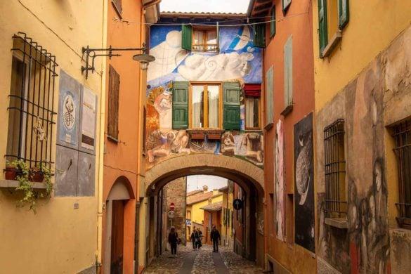 A Day in Dozza Italy