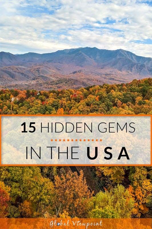Best hidden gems in the United States.