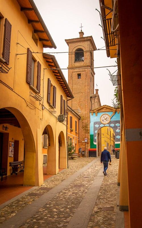 The Chiesa Di Santa Maria Assunta in Piscina is also called the church of Santa Maria Assunta in Piscina.