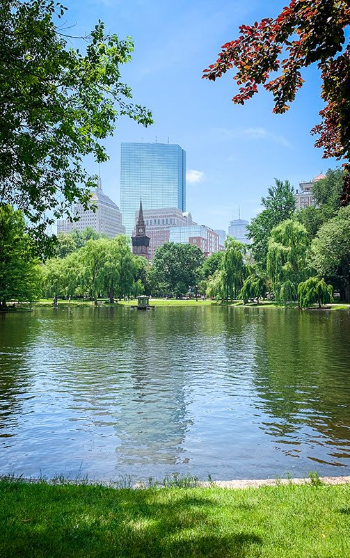 The Boston Public Garden is a must-see in the heart of Boston.