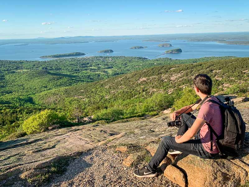 Cadillac Mountain is a must-see on a New England road trip itinerary.