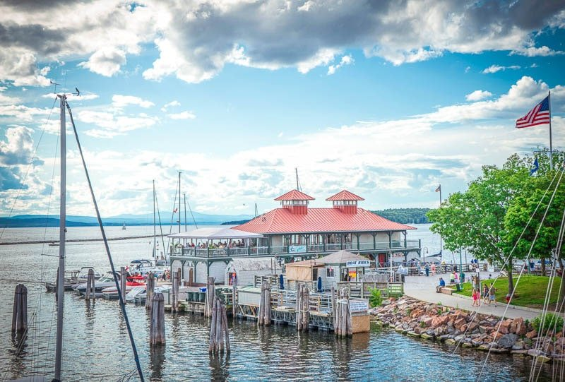 Burlington, Vermont is a must on a New England road trip itinerary.